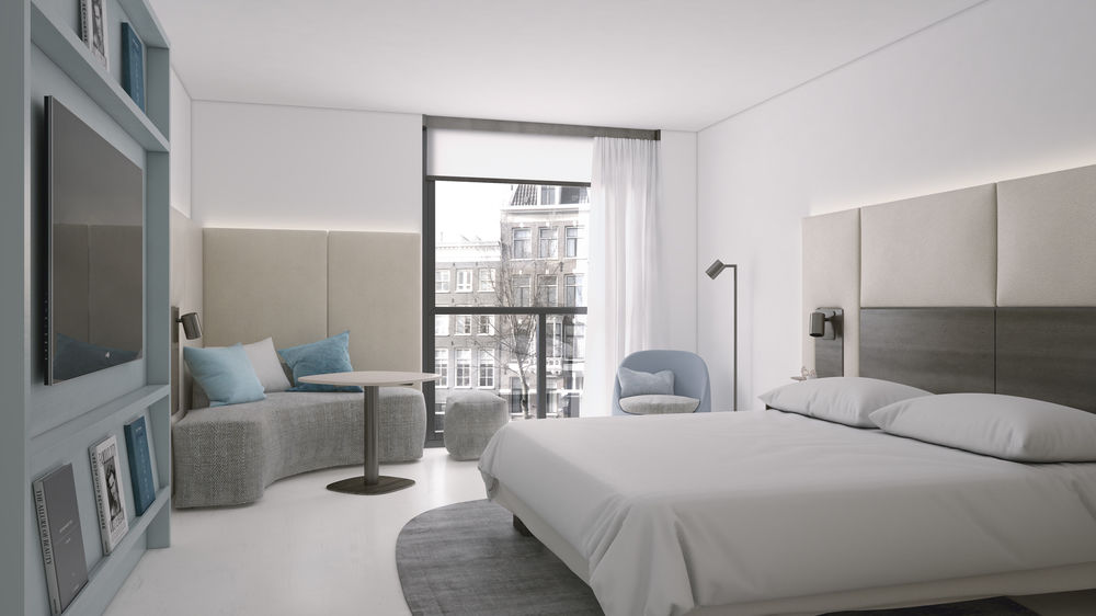 Holidays for disabled wheelchair accessible hotels in for Design amsterdam hotel