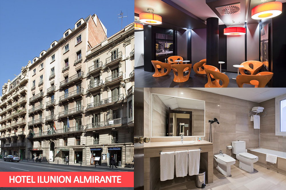 Disabled Holidays - Hotel ILUNION Almirante - Barcelona Hotels