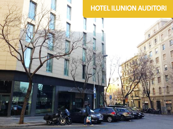 Disabled Holidays - Hotel ILUNION Auditori - Barcelona Hotels