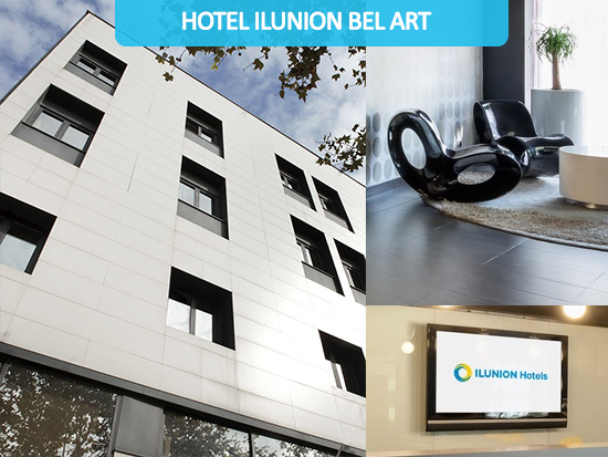 Disabled Holidays -  Hotel ILUNION Bel-Art - Barcelona Hotels