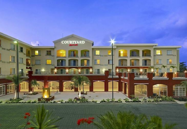 Disabled Holidays - Courtyard Marriott - Caribbean
