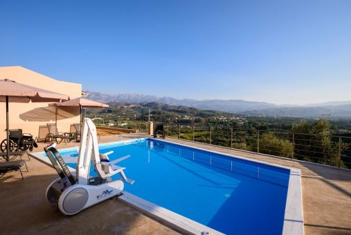 Disabled Holidays - Aksos Suites - Crete, Greece