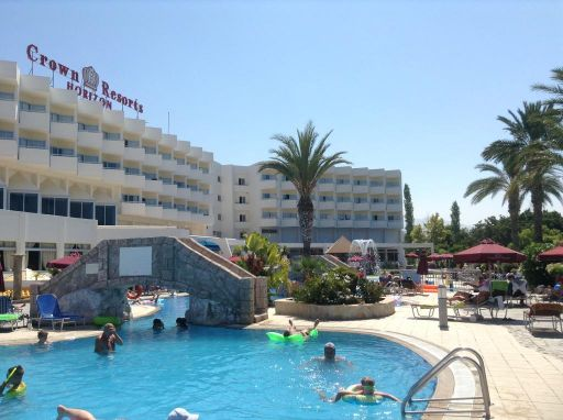 Disabled Holidays - Crown Resorts Horizon, Coral Bay, Paphos, Cyprus