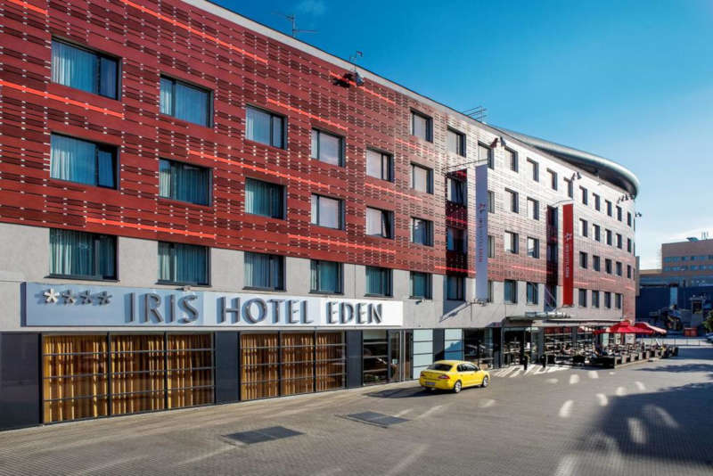 Disabled Holidays - Iris Hotel Eden - Prague