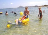 accessible beach holiday