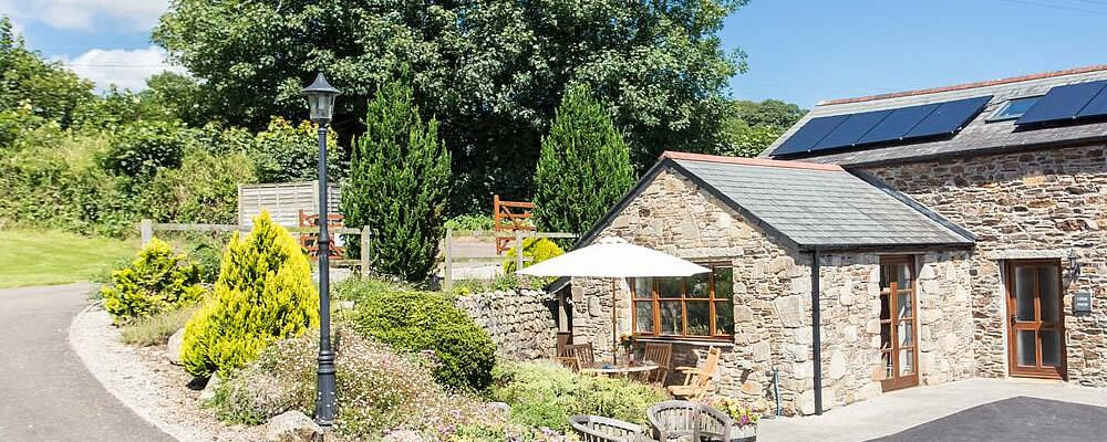 Disabled Holidays - Cider Press Cottage - Cornwall, England