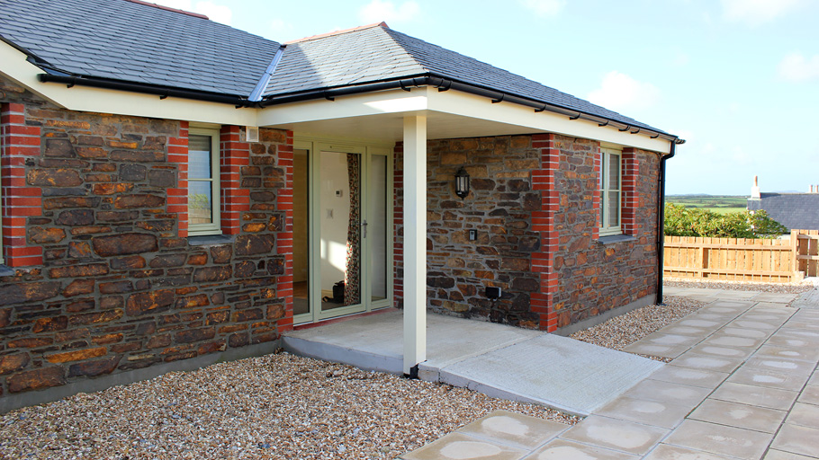 Disabled Holidays - Vose Farm - Willow Cottage