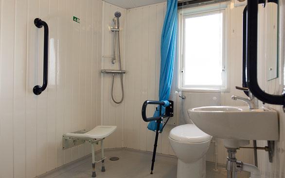 Bathroom Design East Yorkshire accessible caravans in bridlington, yorkshire