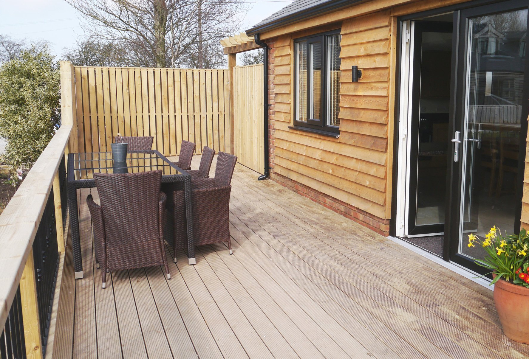 Disabled Holidays - Self Catering Walnut Cottage, Hambleton, Lancashire, England