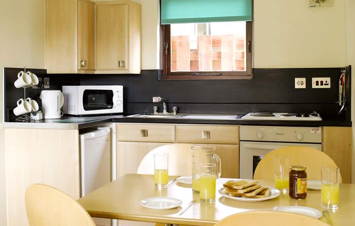 Butlins Minehead Apartment Kitchen