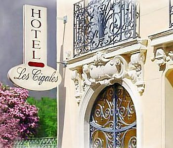 Disabled Holidays - Hotel Les Cigales, Nice