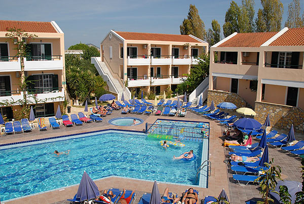 Disabled Holidays - Hotel Oscar - Zante, Greece