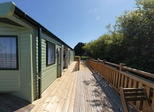Disabled Holidays - Abbey View Mobile Home - Summerfield Farm England