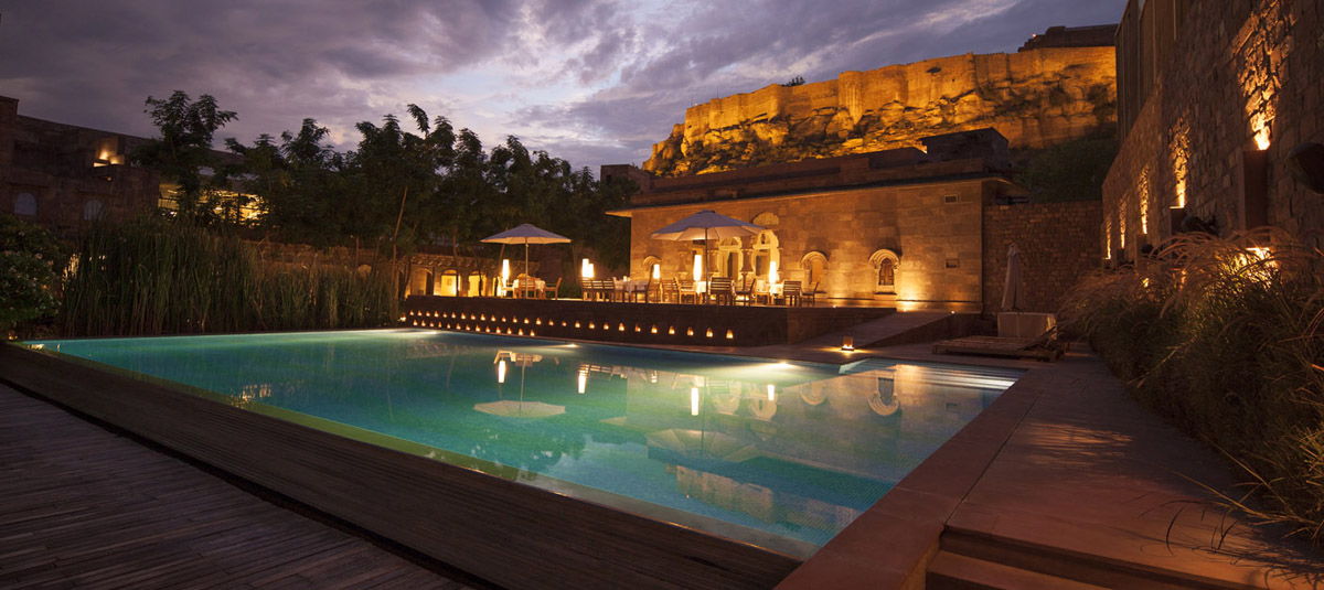 Holidays for Disabled in Rajasthan, India at RAAS Hotel Jodhpur