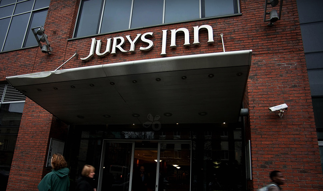 Disabled Holidays - Jurys Inn Dublin Parnell Street - Dublin, Ireland