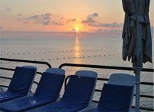 Suncrest Hotel, Qawra, Malta - Sunbeds
