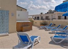 Milano Hotel, Sliema, Malta - Terrace