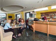 Milano Hotel, Sliema, Malta - Cafe