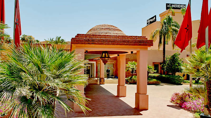 Disabled Holidays - Morocco Le Méridien N'Fis - Marrakech, Morocco