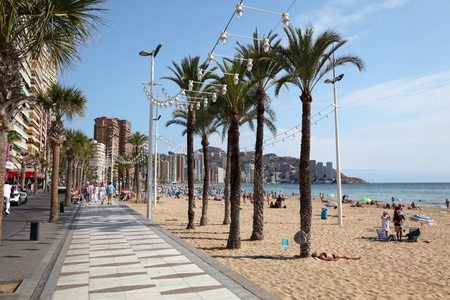 Disabled friendly accommodation in Benidorm, Costa Blanca, Spain