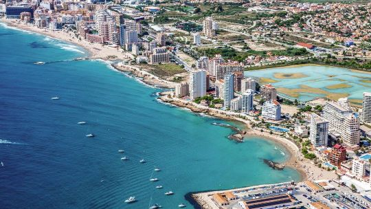 Disabled friendly accommodation in Calpe, Costa Blanca, Spain