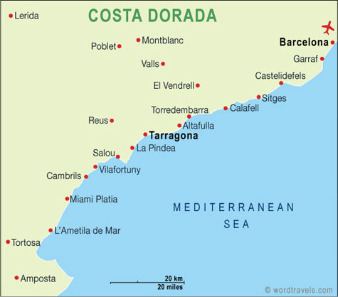 Accessible Hotels for Disabled Wheelchair users in Costa Dorada, Spain