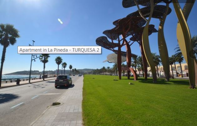 Disabled friendly accommodation in La Pineda, Costa Dorada, Spain