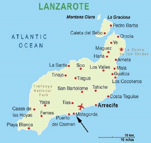 Accessible Hotels for Disabled Wheelchair users in Lanzarote
