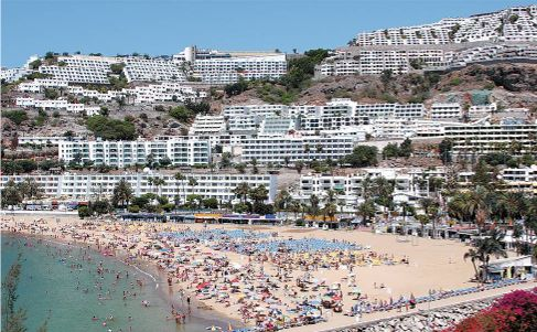Disabled friendly accommodation in Puerto Rico, Gran Canaria