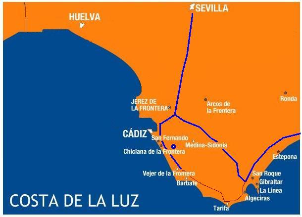 Accessible Hotels for Disabled Wheelchair users in Costa De La Luz, Spain