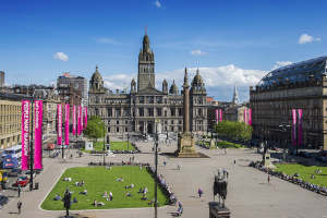 Disabled accessible holidays in Glasgow, Scotland for wheelchair users with disability