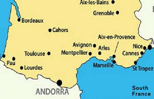 Accessible Hotels for Disabled Wheelchair users in South, France