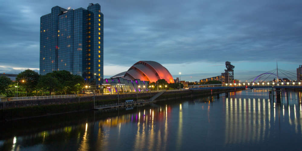 Disabled Holidays - Crowne Plaza Glasgow - Scotland