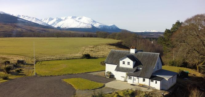 Disabled Holidays - Achaderry Estate and Farmhouse, Inverness, Scotland