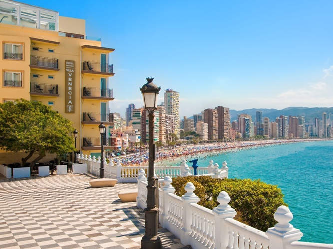 Disabled Holidays - Marconfort Essence Benidorm, Spain