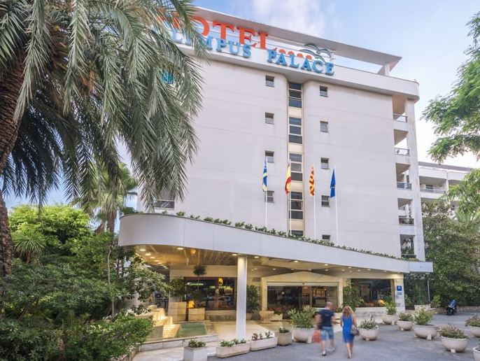 Disabled Holidays - Olympus Palace Hotel - Salou