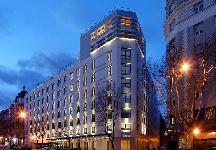 Disabled Holidays - Hotel Paseo del Arte, Madrid, Spain