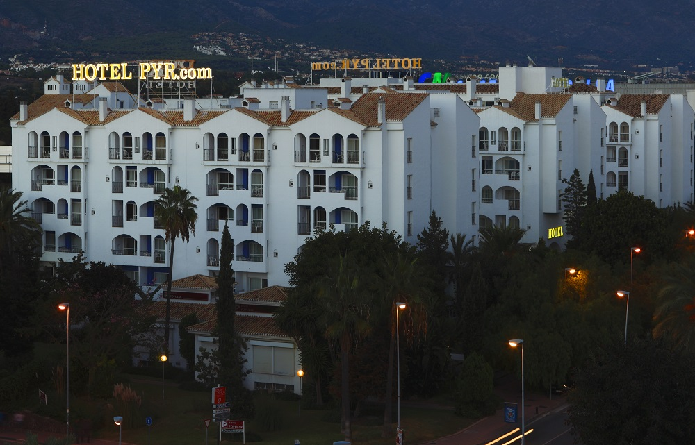 Disabled Holidays - Pyr Hotel Marbella, Marbella, Costa Del Sol, Spain