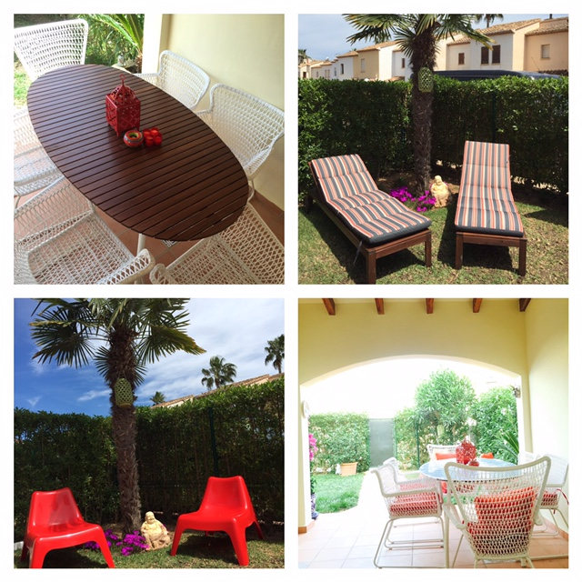 Garden Furniture Javea disabled access holidays - wheelchair accessible accommodation in