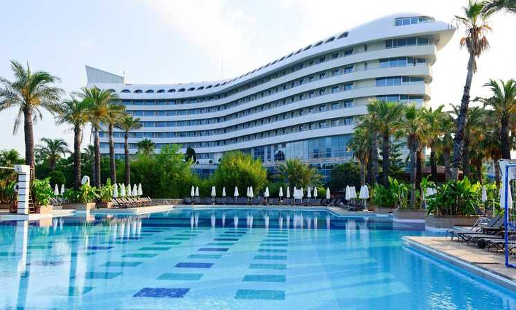 Disabled Holidays -  Concorde De Luxe Resort, Lara Beach, Antalya, Turkey