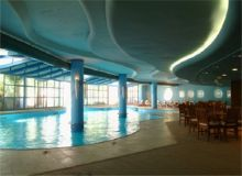 Grand Azur Hotel - interior pool