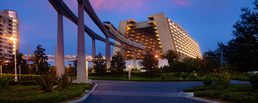 Disabled Holidays - Disney Contemporary Resort, Orlando, USA