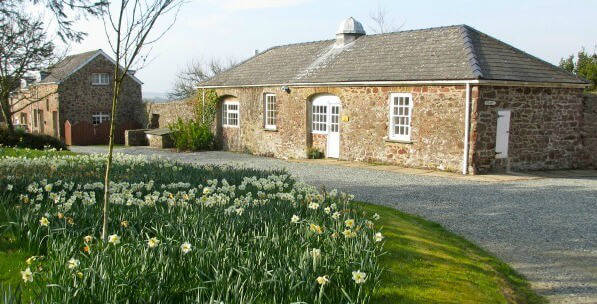 Disabled Holidays - Apple Cottage - Rosemoor Country Cottages, Wales