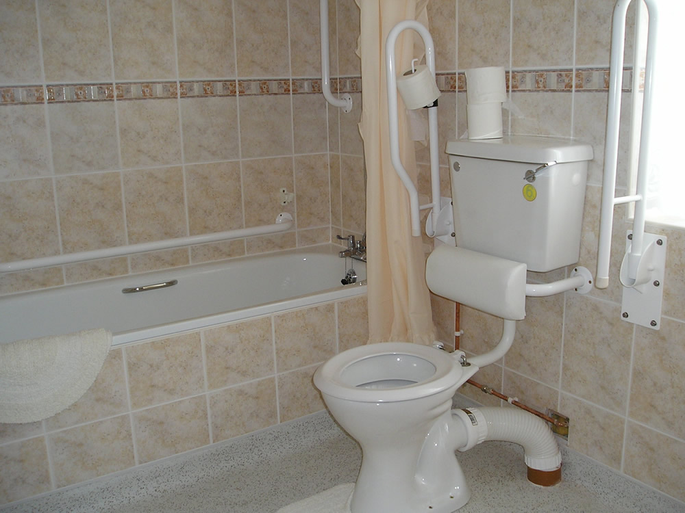 disabled accessible accommodation in welshpool powys mid wales